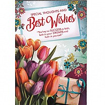 Special Thoughts And Best Wishes - Greeting Card