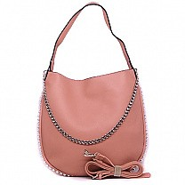 Stylish Ladies Pink Hobo Bag