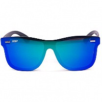 Rimless Stylish Blue Sunglasses