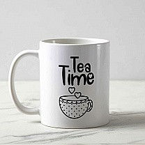 'Tea Time' Printed Beautiful Mug Gift