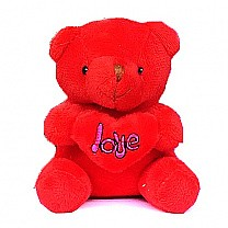"4"" Mini Teddy Bear (Red)"
