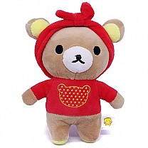 Cute Teddy Bear Keyring (Hairband)