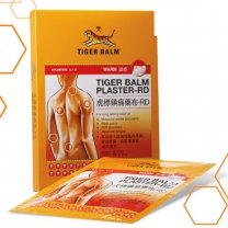 Tiger Balm Pain Relief Plaster - Warm (2 Patches)
