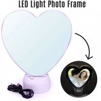2 in 1 Magic Mirror and LED Light Photo Frame
