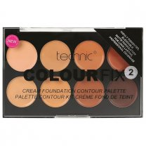 Technic Colour Fix 2 Cream Based Contour Palette (Medium/Dark)