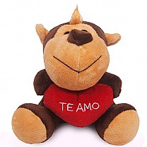 Mini Monkey Soft Toy 6''- Brown (Te Amo)