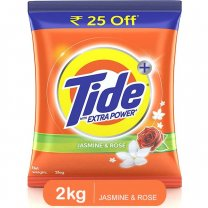 Tide Plus Extra Power Jasmine & Rose Detergent Washing Powder 2kg buy online in Nepal.