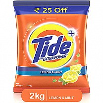 Tide Plus Extra Power Lemon & Mint Detergent Washing Powder 2kg buy online in Nepal.