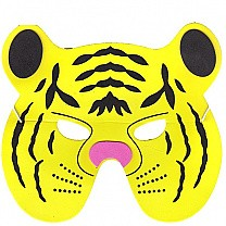 Soft Face Mask For Kids - Tiger