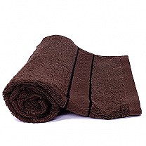 Quality fabric Face Towel (Dark Brown)