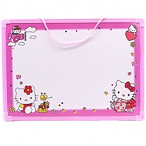 Slate Board with Tutorial and Sign Pen For Kids - Pink