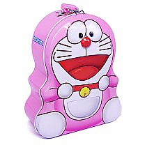 Doraemon Piggy Bank For Kids 6.5'' - Pink