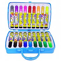 18 Pcs Color Set Box For Kids - Blue