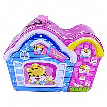 Beautiful House Piggy Bank For Kids 5.5'' (Pink)