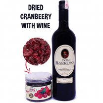 Dried Cranberry With Red Sweet Wine