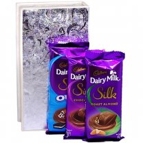 Dairy Milk Silk Chocolate Box (3 Flavors)