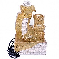 Four Layer Home Decor Water Fountain 10''
