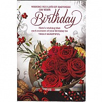 Wishing You Lots Of Happiness - Greeting Card