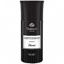 Yardley London Gentleman Classic Body Spray 150ml