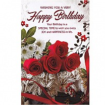 Your Birthday Is A Special Time - Greeting Card