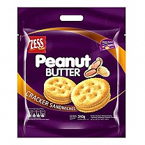 ZESS Peanut Butter Cracker Sandwiches 340g