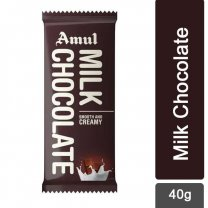 Amul Milk Smooth & Creamy Chocolate 40g