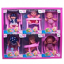 Six Cute Baby Doll For Kids (For 3+ Years)