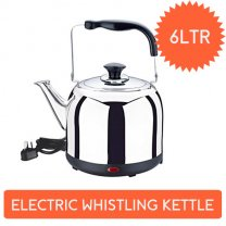 Baltra Electric Whistling Kettle 6 Ltr - Solid (BC-125)
