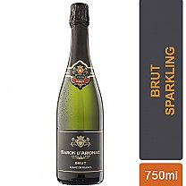 Baron D'Arignac French Brut Sparkling Wine 750ml