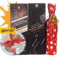 JW Black and Double Black, Wine & Nature Dry Nuts Tray