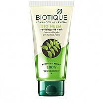 Bio Neem Purifying Face Wash by Biotique (50ml)