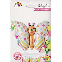 Colourful Butterfly Inflatable Foil Balloon
