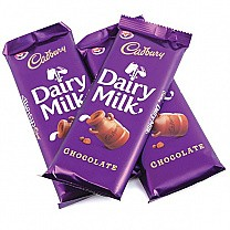 Cadbury Dairy Milk Chocolate Bar X 3