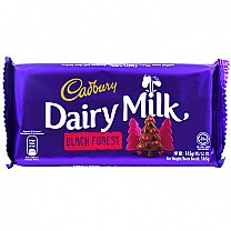 Cadbury Dairy Milk Black Forest 165g
