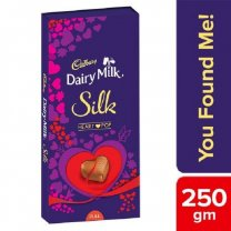 Cadbury Dairy Milk Silk Heart Pop Chocolate Bar 250g
