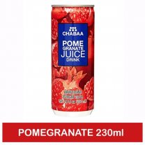 Chabaa Can Juice Pomegranate 230ml