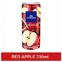 Chabaa Can Juice Red Apple 230ml