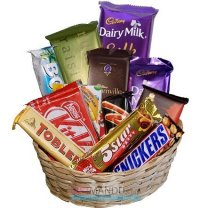 Cadbury Dozen Chocolates Gift Basket (12 Chocolates)