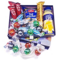 Happy Munch Time Box - Chocolate, Namkeen and Amul Drink