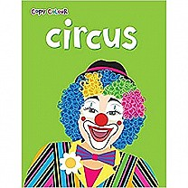 Circus Colouring Book by Pegasus