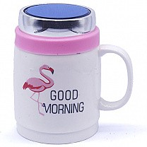 Good Morning Ceramic Coffee Mug (Walking Swan)