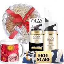 Olay Total Effects BB Creme, Dry Nuts, Mug (Free Scarf)