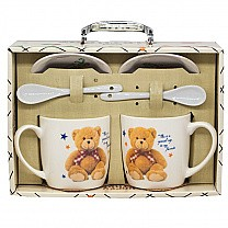 Happy Birthday Twin Mug Gift Set