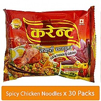 Current Instant Noodles, Chicken Flavour 81gm (30 Packets Family Box)