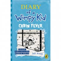 The Diary of A Wimpy Kid: Cabin Fever by Jeff Kinney (Hard Cover)