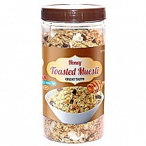 D'lite Honey Toasted Muesli Jar 400g
