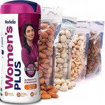 Nature's Best Dry Nuts and Women's Horlicks