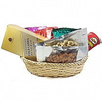 JW Gold Label, Dry Nuts, Namkeens Basket