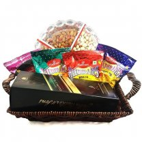 JW Double Black, Namkeens, Dry Nuts Tray Basket