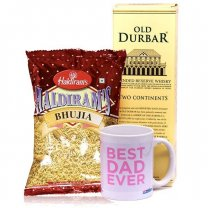 Old Durbar, Namkeen & Best Dad Mug